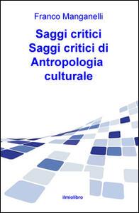 Saggi critici di antropologia culturale