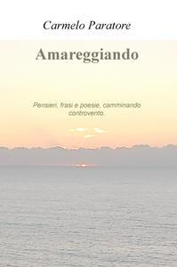 Amareggiando. Pensieri, frasi e poesie, camminando controvento - Carmelo Paratore - copertina