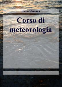 Corso di meteorologia - Piero Sbressa - copertina