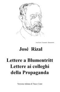 Lettere a Blumentritt, lettere ai colleghi della Propaganda