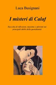 I misteri di Calaf. Raccolta di riflessioni, massime e aforismi sui principali dubbi della quotidianità - Luca Busignani - copertina