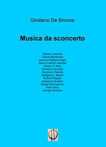 Musica da sconcerto - Girolamo De Simone - copertina
