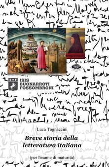 Breve storia della letteratura italiana (per lesame di maturità).pdf