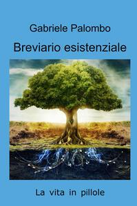 Libro Breviario esistenziale Gabriele Palombo