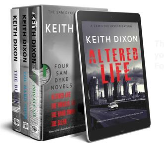 TheSam Dyke box set: four crime novels