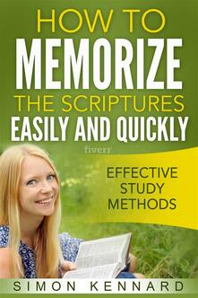 How To Memorize The Bible Scriptures Easily and Quickly