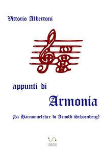 Appunti di armonia - Vittorio Albertoni - copertina