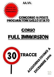 Vitalitart.it Corso full immersion. Concorso 10 procuratori dello Stato Image