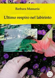 Ultimo respiro nel labirinto - Barbara Massaria - copertina