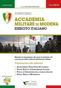 Concorso Accademia Militare di Modena. Esercito Italiano. Preparazione alle selezioni