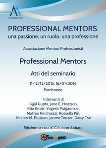 Professional mentors. Atti del seminario
