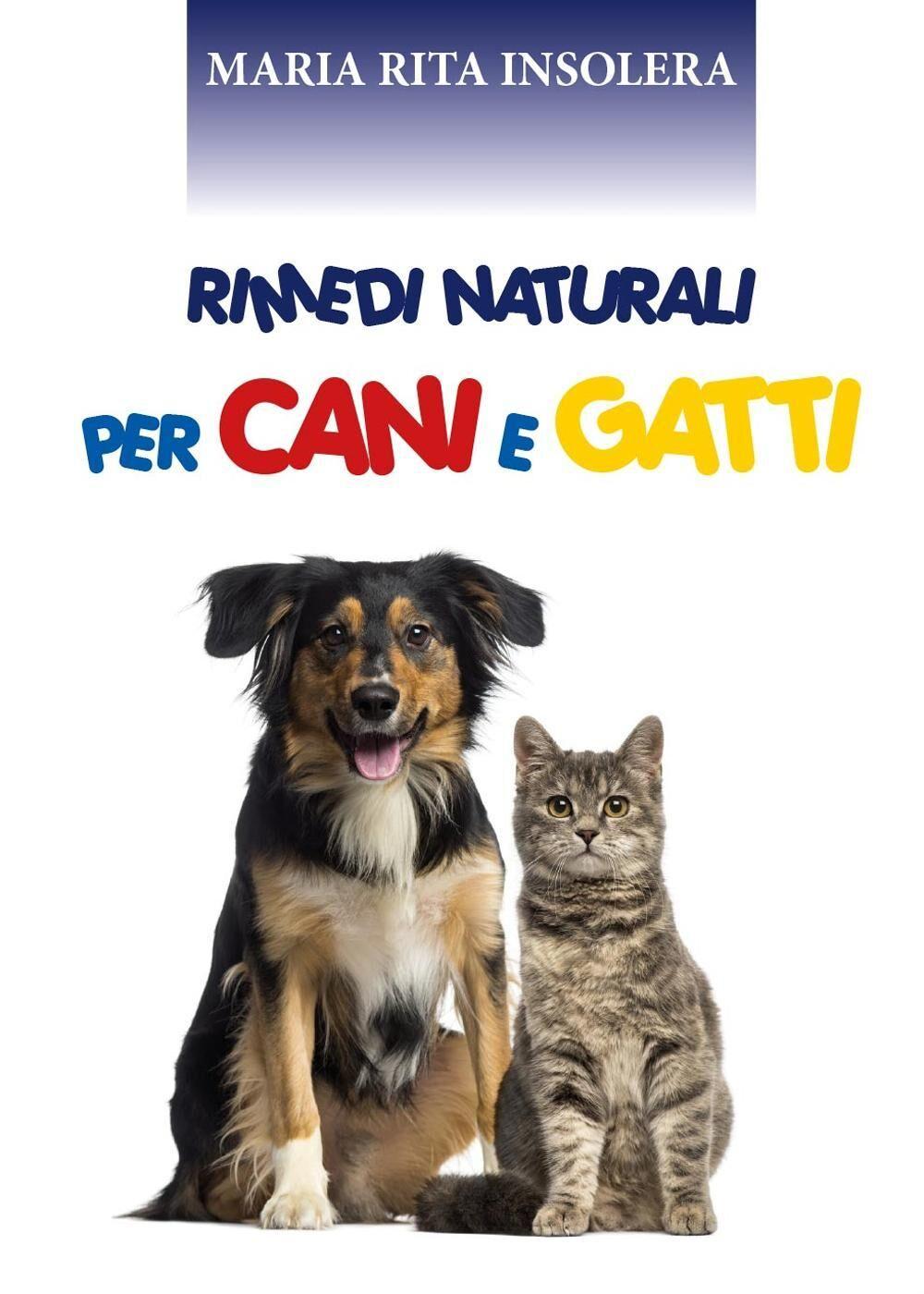 Rimedi naturali per cani e gatti