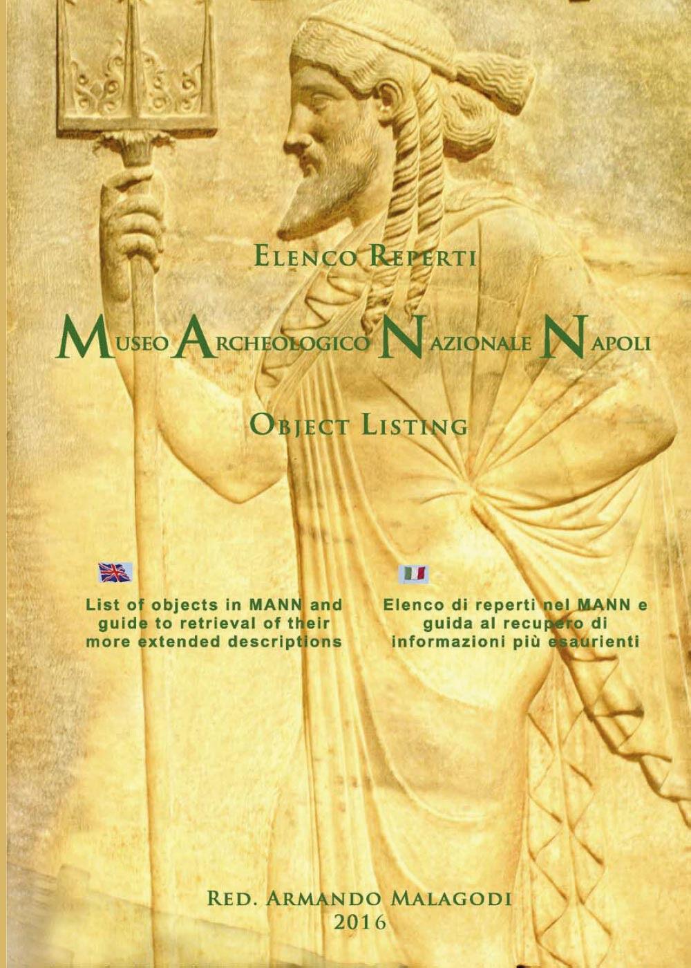Elenco reperti Museo Archeologico Nazionale Napoli
