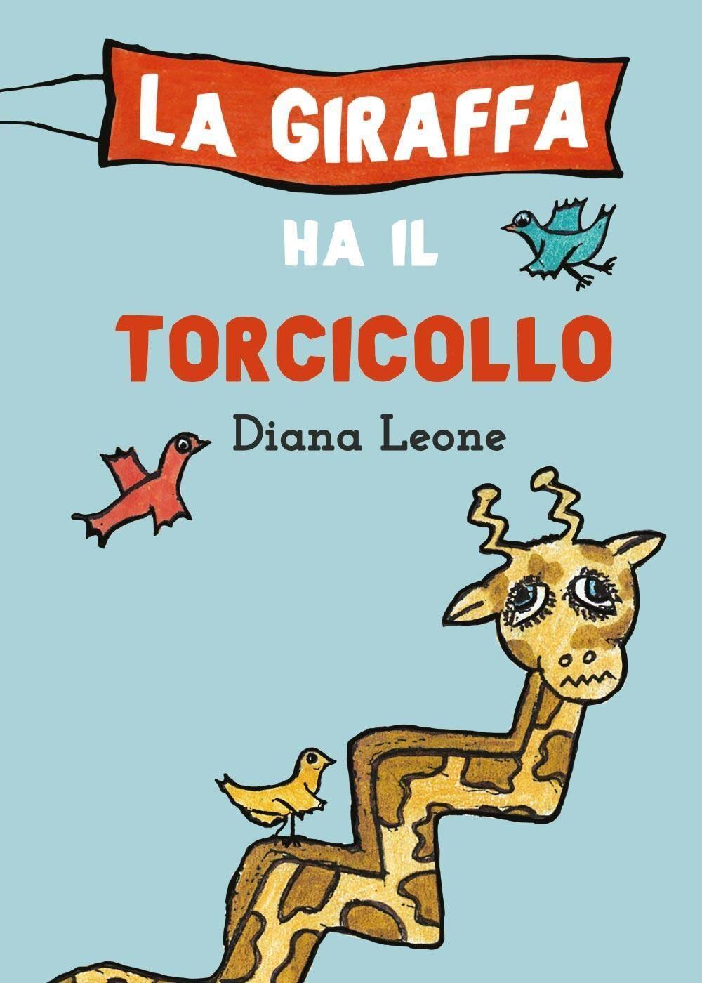 La giraffa ha il torcicollo