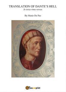 Translation of Dante's Hell