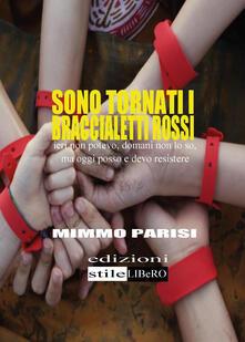 Sono tornati i braccialetti rossi - Cosimo Parisi - copertina