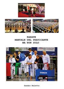 Karate manuale del praticante ma non solo