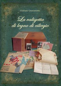 La valigetta di legno di ciliegio