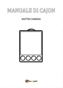 Daddyswing.es Manuale di cajon. Ediz. a spirale Image