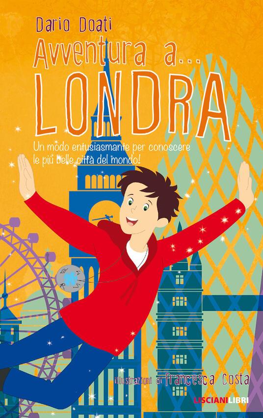 Avventura a... Londra - Dario Doati - copertina