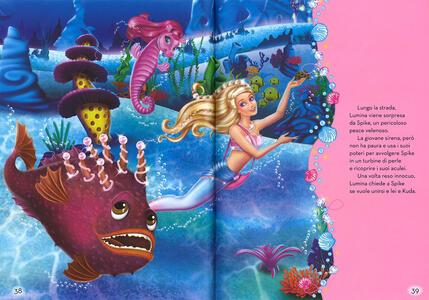 Barbie 4 Storie Dai Film Barbie E La Scarpetta Rosa La Principessa