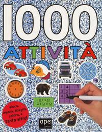 1000 attività. Con adesivi. Ediz. a colori - - wuz.it