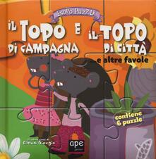 Antondemarirreguera.es Il topo di campagna e il topo di città... e altre favole. Esopo puzzle. Ediz. a colori. Con 6 puzzle Image