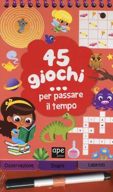 Daddyswing.es 45 giochi... per passare il tempo. Ediz. a colori. Ediz. a spirale Image