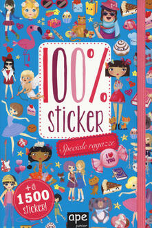 Librisulladiversita.it Speciale ragazze. 100% sticker. Con adesivi. Ediz. a colori Image