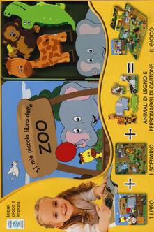 Aboutschuster.de Il mio piccolo libro dello zoo. Little village. Ediz. a colori. Con gadget Image