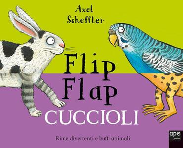 Cuccioli. Flip flap. Ediz. a colori. Ediz. a spirale