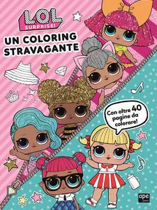 Un coloring stravagante. LOL
