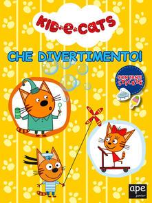 Listadelpopolo.it Che divertimento! Kid e cats. Con adesivi. Ediz. a colori Image