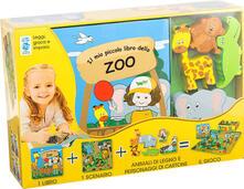 Filippodegasperi.it Il mio piccolo libro dello zoo. Little village. Ediz. illustrata. Con gadget Image