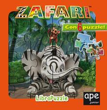 Steamcon.it Zafari. Libro puzzle. Ediz. a colori Image