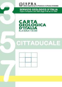 Carta geologica d'Italia 1:50.000 F° 357. Cittaducale