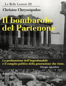 Il bombarolo del Partenone - Christos Chryssòpulos - copertina