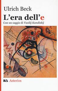 L' era dell'e - Ulrich Beck - copertina