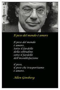 Cartoleria Diario 2022, Allen Ginsberg. Il peso del mondo è amore Asterios