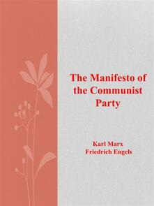 Themanifesto of the Communist Party