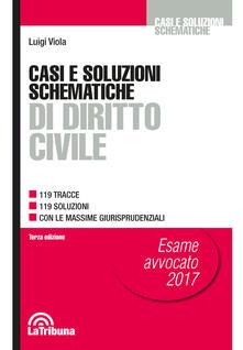 Rallydeicolliscaligeri.it Casi e soluzioni schematiche di diritto civile Image