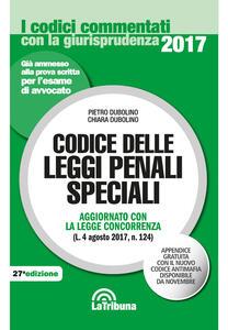 Codice delle leggi penali speciali