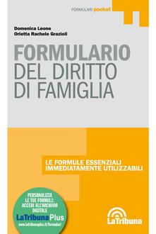 Secchiarapita.it Formulario del diritto di famiglia. Con Contenuto digitale per download e accesso on line Image