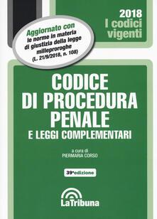 Antondemarirreguera.es Codice di procedura penale e leggi complementari Image