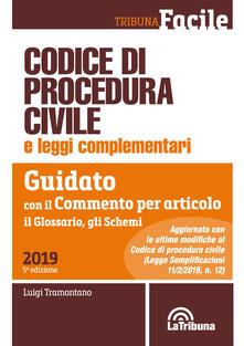 Codice di procedura civile e leggi complementari. Guidato con il commento per articolo, il glossario, gli schemi.pdf
