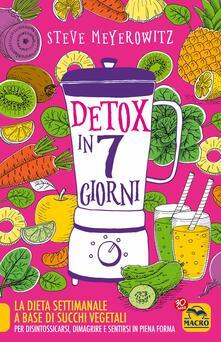 Listadelpopolo.it Detox in 7 giorni Image
