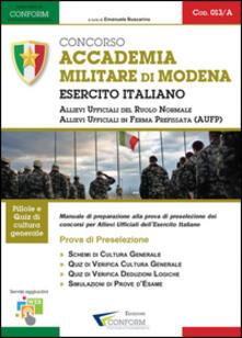 Promoartpalermo.it Concorso accademia militare di Modena. Esercito italiano. Prova di preselezione Image
