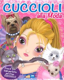 Winniearcher.com Cuccioli alla moda. Con adesivi. Ediz. a colori Image