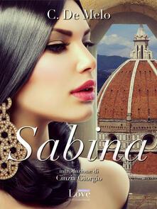 Sabina. Ediz. inglese