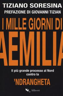 I mille giorni di Aemilia. Il più grande processo al Nord contro la 'ndrangheta - Tiziano Soresina - copertina